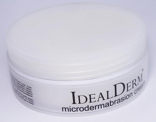 idealderm - Mikrodermabrasionscreme (sanft, effektiv und beste Verträglichkeit!)
