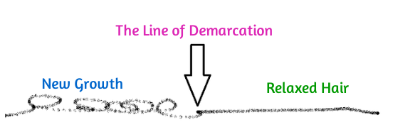 Natural Hair Terms - Scab Hair and The Line of Demarcation