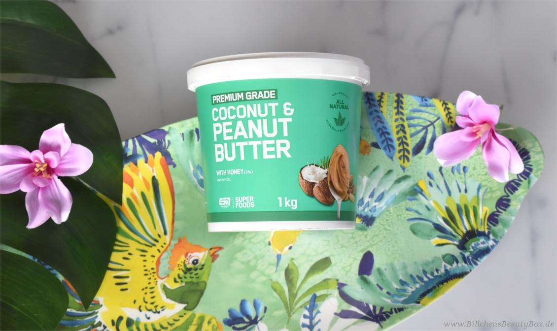 Coconut & Peanut Butter mit Honig - ESN