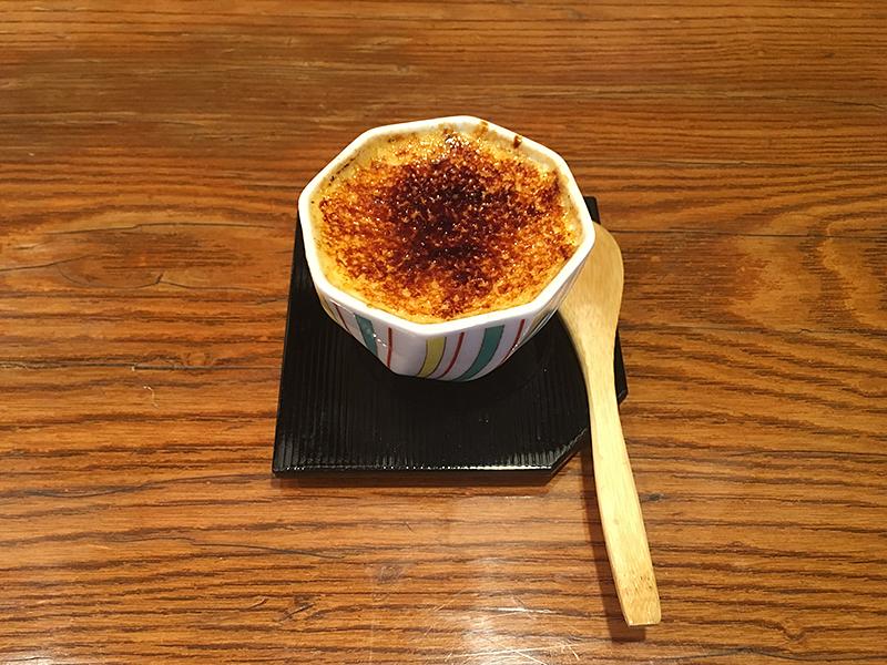 神楽坂の季節料理 季乃香のプリン