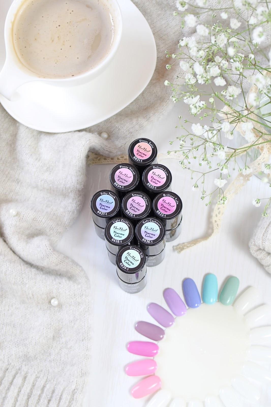Manicure Time Klub Neonail I Termiczne Lakiery W Wiosennych