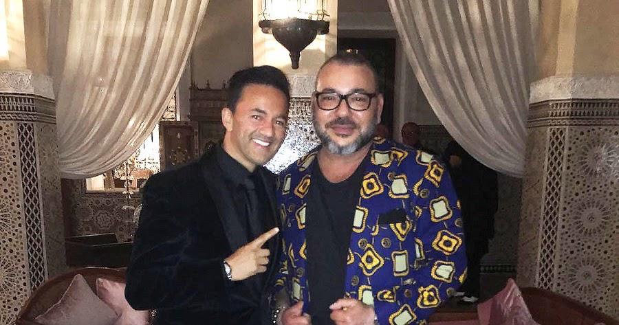 diaspora saharaui extravagante la tenue de mohammed vi selon la presse people fran aise. Black Bedroom Furniture Sets. Home Design Ideas