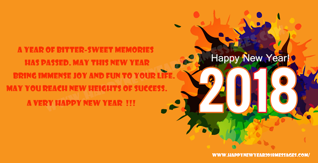 Happy New Year Message 2018 And New Year Messages In English And Hindi