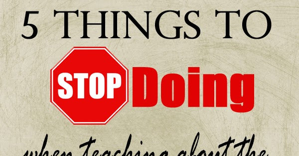 The Unconventional Relief Society: 5 Things to Stop Doing