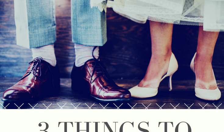 3 things to nail down if you want a dream wedding