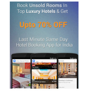 Night Stay Free Rs. 2000 Credit for Hotel Booking
