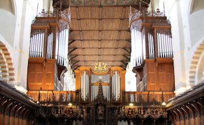 The Harrison & Harrison organ at St Albans Cathedral