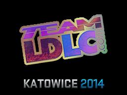 Sticker (naklejka) Team LDLC.com | Katowice 2014 (Holo)