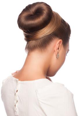 Model Rambut Bun