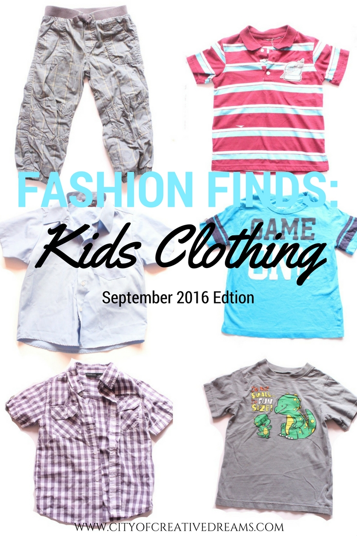 Fashion Finds - September 2016 Edition | City of Creative Dreams