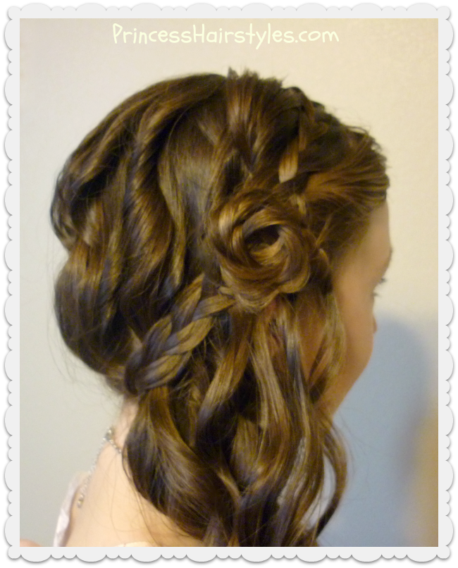 Incredible Hairstyles For Girls Princess Hairstyles Headbands Short Hairstyles Gunalazisus