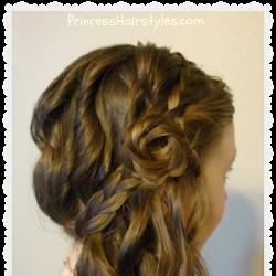 Fabulous Carousel Braid Hairstyles For Girls Princess Hairstyles Short Hairstyles Gunalazisus
