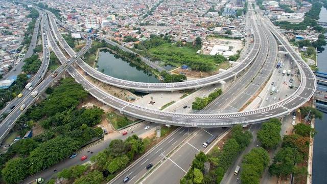 Jalan Tol Akses Tanjung Priok Sepanjang 11,4 kilometer Akan Dilintasi 3.600 Truk Kontainer Setiap Hari