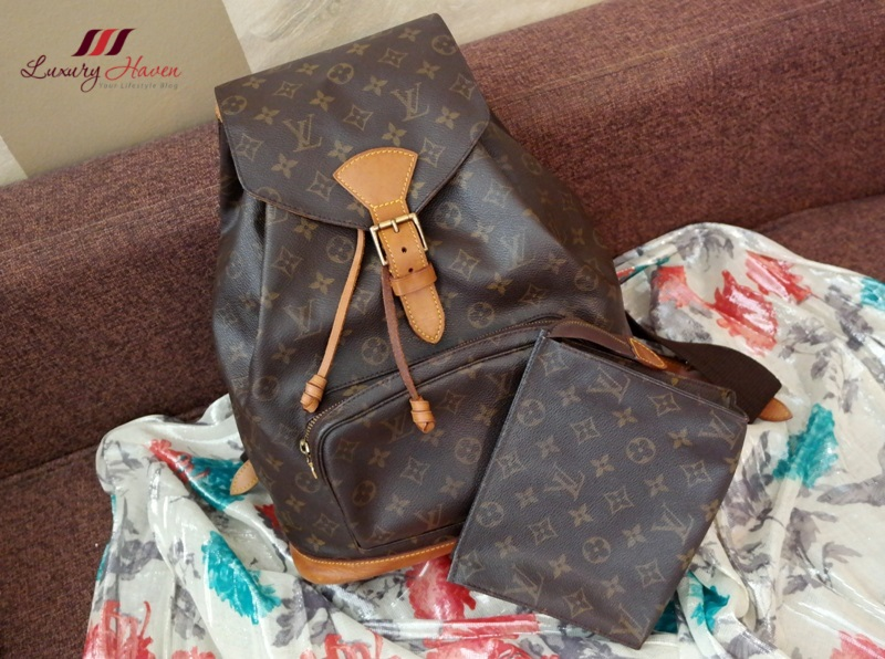 louis vuitton monogram montsouris backpack review