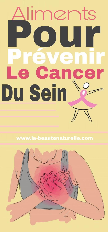 Aliments pour prévenir le cancer du sein