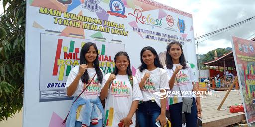 Ribuan Peserta Semarakkan Millennial Road Safety Festival Sat Lantas Polres Tana Toraja