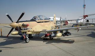 Pesawat Serang Ringan Wolverine AT-6 - Beechcraft