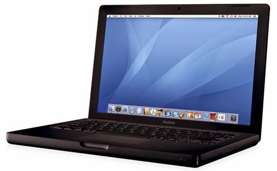 Macbook Black - Parece ser o sistema de viagem mais popular