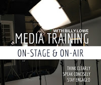 Billy Lowe Media and Press training and coaching to prepare you for your on air appearance