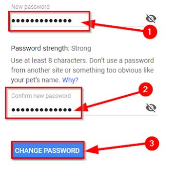 Pasword Change
