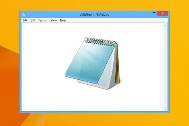 Fitur Baru Notepad Windows 10