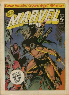Marvel Comic #335, Conan