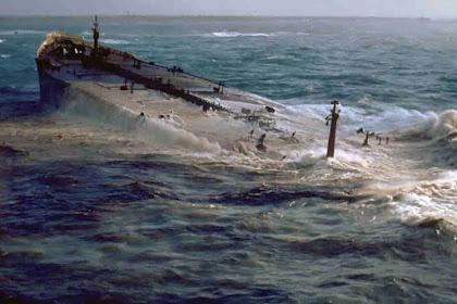 Tenggelamnya Amoco Cadiz : Petaka Lingkungan Terbesar Dunia #1