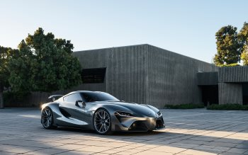 Wallpaper: Toyota FT-1 Sports Car Concept
