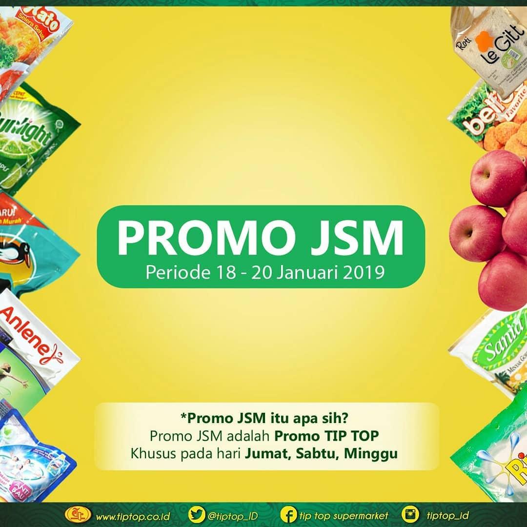 #TipTop - Promo Katalog JSM Periode 18 - 20 Januari 2019