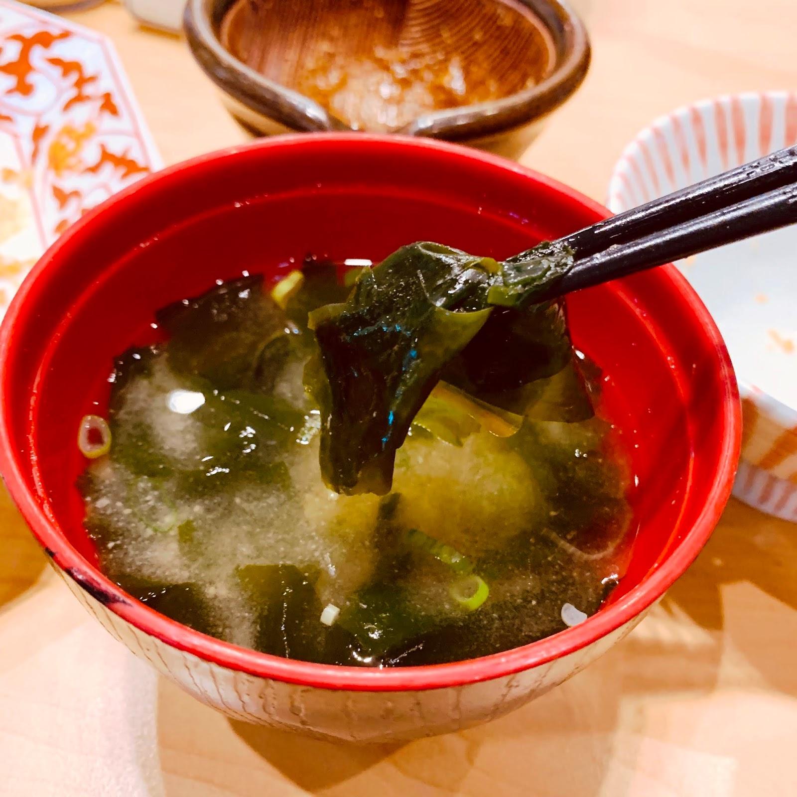 紫菜味噌湯