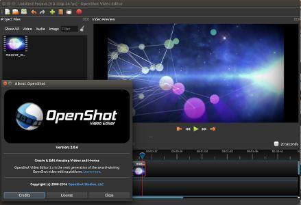 OpenShot فيديو