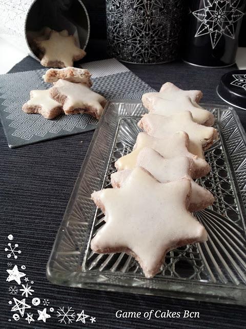 Galletas de navidad estrellas de Canela, Zimtsterne
