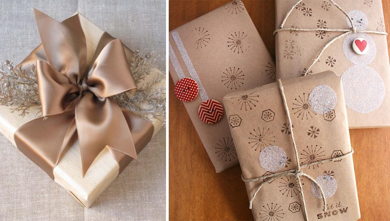 pakowanie prezentow gwiazdka swieta christmas inspiracje pomysly papier pakowy
