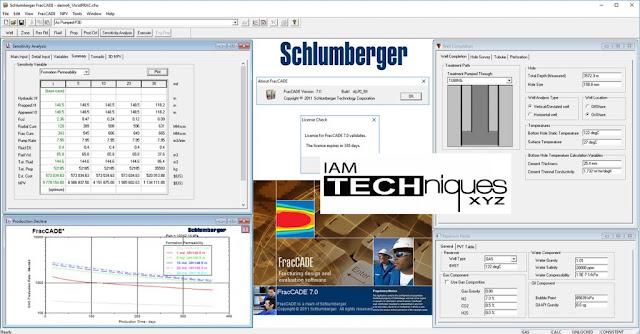 Schlumberger FracCADE v7.0