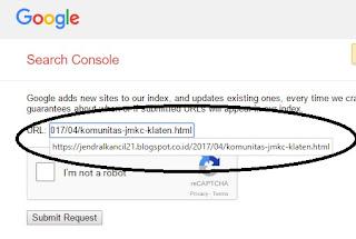 Cara Agar Artikel Cepat Terindex Google Dalam 57 Detik