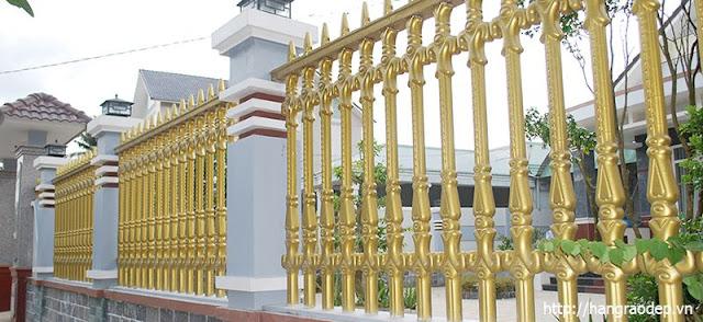 Mẫu hàng rào đẹp Công Tước