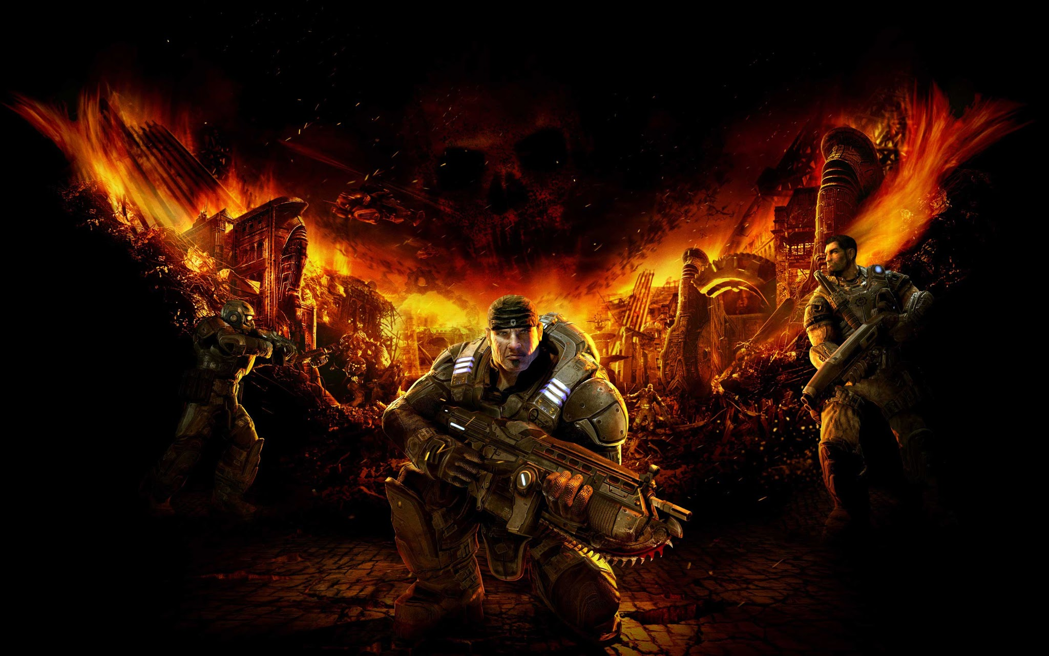 Gears Of War Ultimate Edition Xbox Xfxwallpapers Free Hd Wallpapers