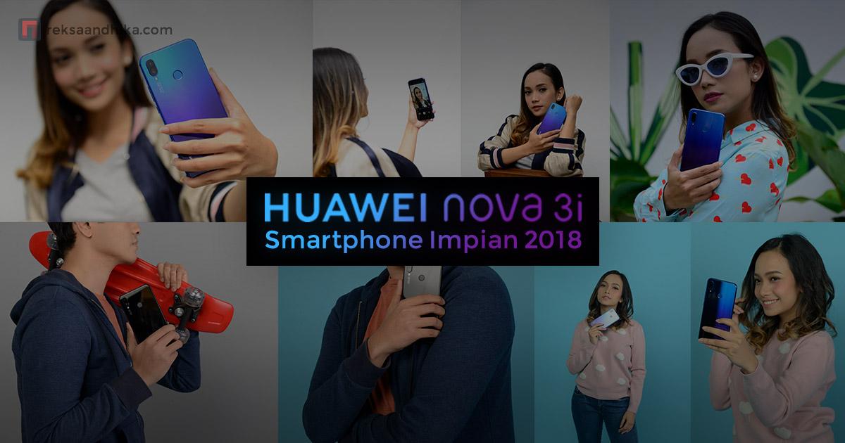 Huawei Nova 3i Smartphone Impian 2018