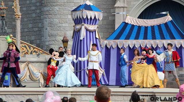 Mickey's Royal Friendship Faire, Magic Kingdom