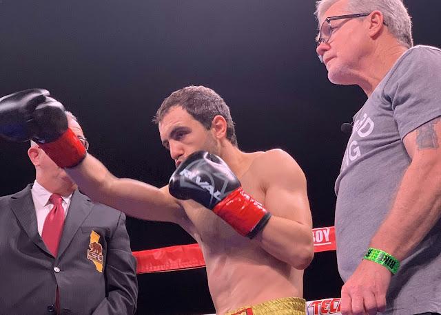 Azat Hovhannisyan defs. Lolito Sonsona Via KO Round Five