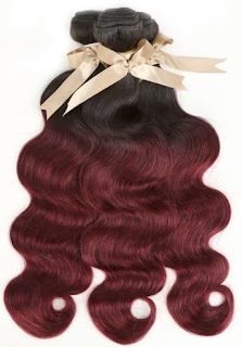 REMY HAIR丨OMBRE 3 BUNDLES BODY WAVE 丨T1B/99J