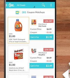 Flippe écran pour coupon jumeles