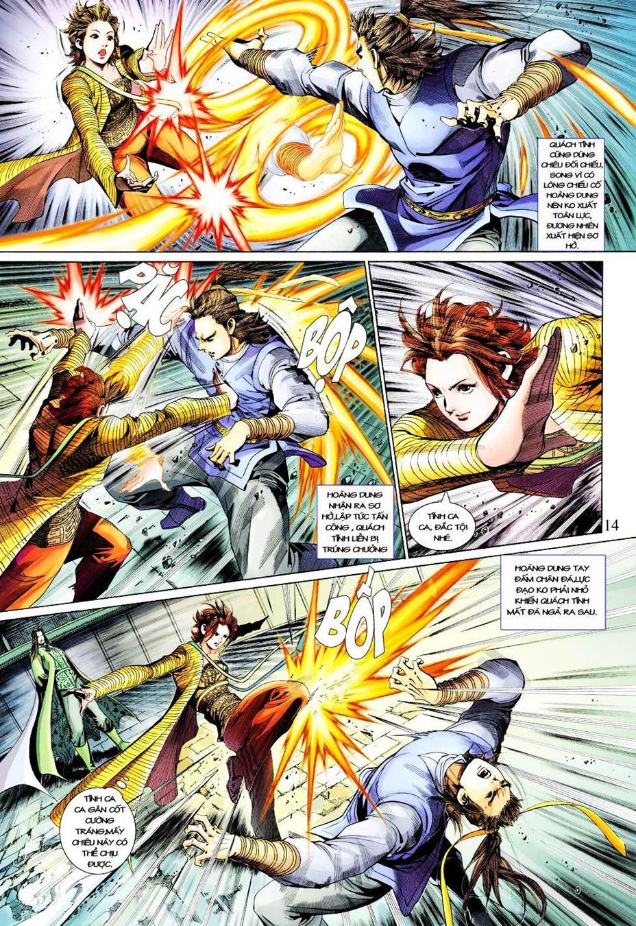 Anh Hùng Xạ Điêu anh hùng xạ đêu chap 33 trang 14