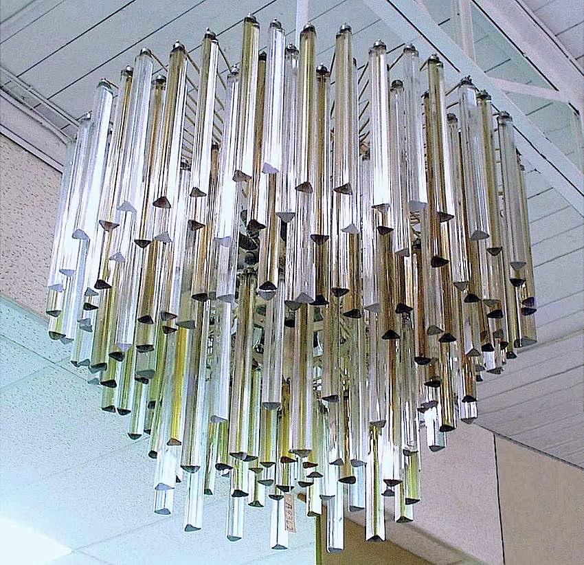 Murano chandelier photo