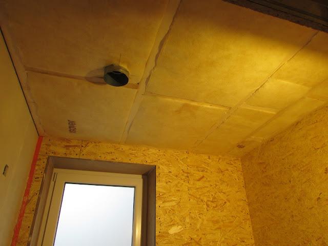 verbouwing van ons ouderlijk huis: plafond badkamer 2