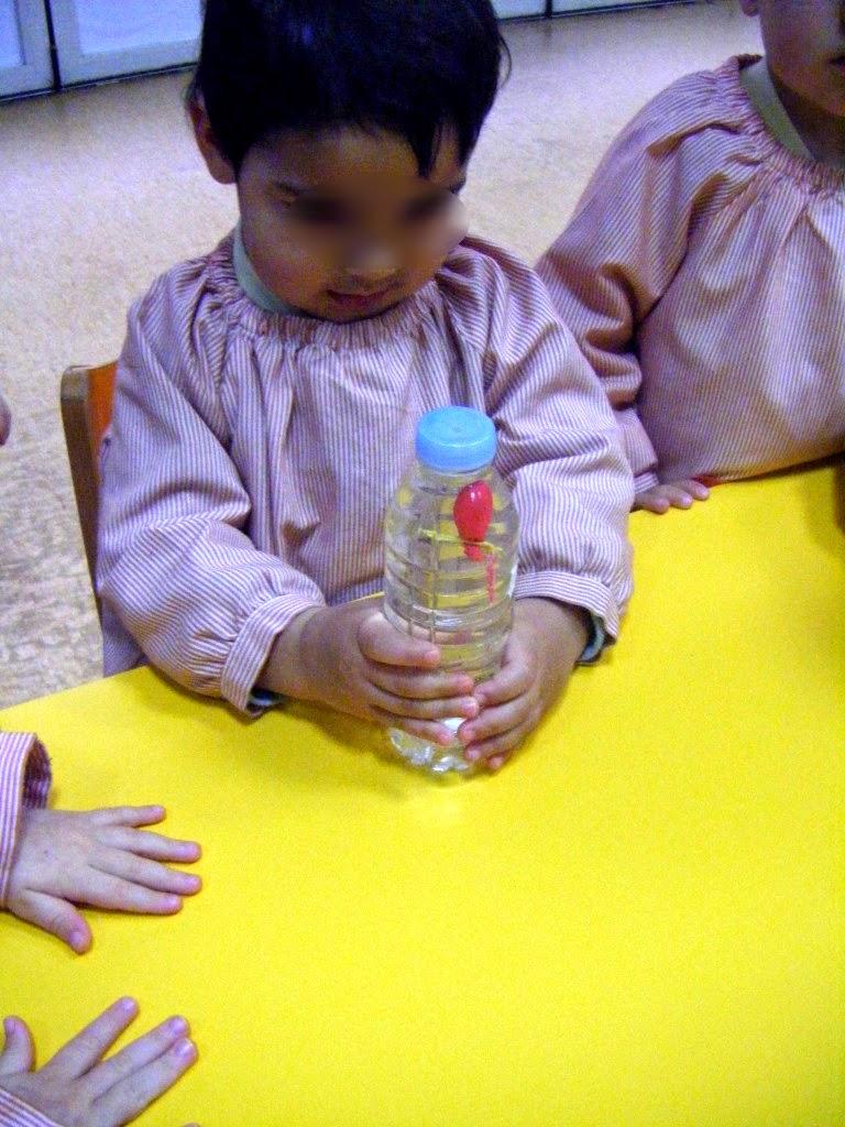 Experimento para niños menores de 3 años