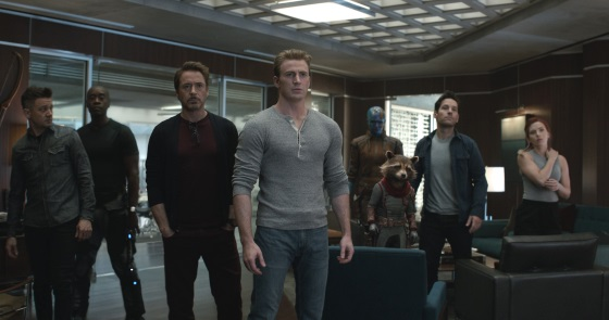 Chris Evans, Don Cheadle, Jeremy Renner, Karen Gillan, Paul Rudd, Scarlett Johansson, Robert Downey Jr.