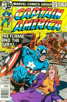 Captain America #232