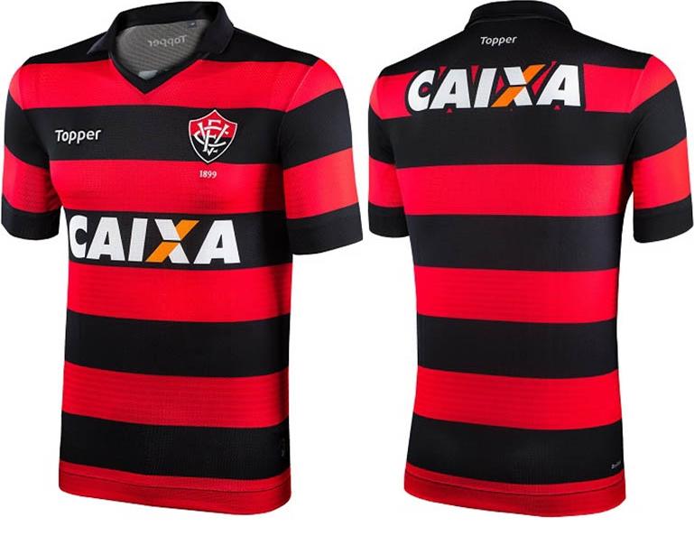 5e83186cb2 Topper apresenta as novas camisas do Vitória - Show de Camisas