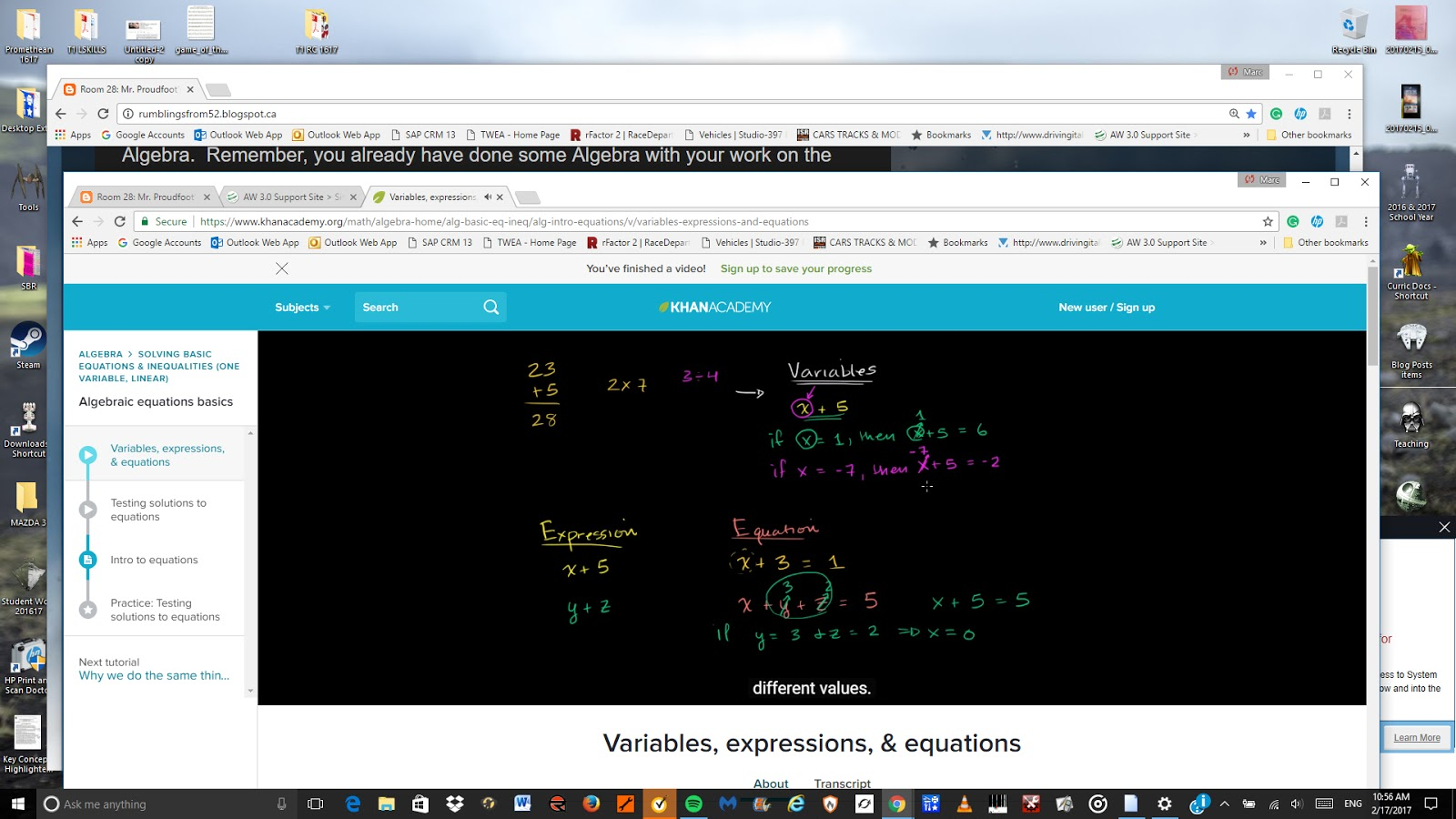 Educational Reflections With Mr P Oct Khan Academy